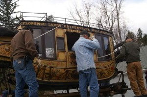 Barre Stagecoach restored from scratch.