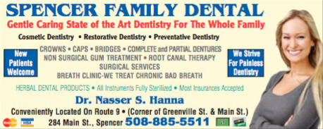 Advertisement: Spencer Family Dentistry